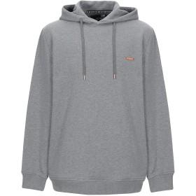 《期間限定セール開催中!》LOVE MOSCHINO メンズ スウェットシャツ グレー S コットン 100% / ポリウレタン