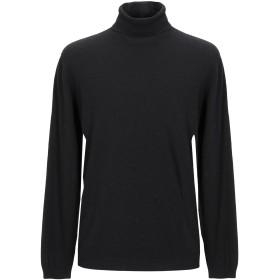 《セール開催中》MICHAEL DASS メンズ タートルネック ブラック 54 ウール 30% / レーヨン 30% / ナイロン 20% / カシミヤ 20%