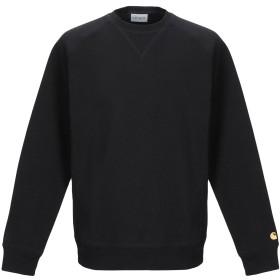 《期間限定セール開催中!》CARHARTT メンズ スウェットシャツ ブラック XS コットン 58% / ポリエステル 42%