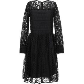 《セール開催中》BRIGITTE BARDOT レディース ミニワンピース&ドレス ブラック 0 コットン 50% / ポリエステル 50%