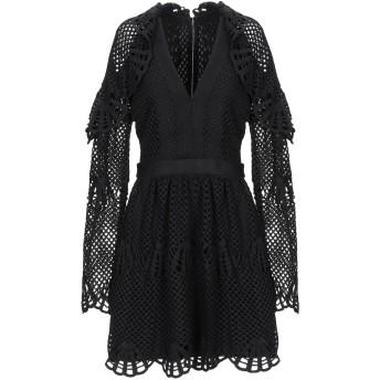 《セール開催中》SELF-PORTRAIT レディース ミニワンピース&ドレス ブラック 6 ポリエステル 100%