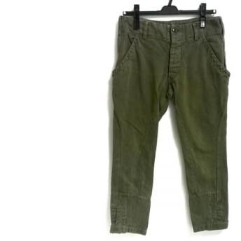【中古】 トーガ TOGA パンツ サイズ0 S レディース カーキ ARCHIVES/ダメージ加工