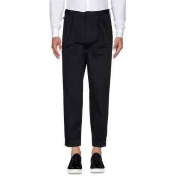 《9/20まで! 限定セール開催中》PT01 GHOST PROJECT メンズ パンツ ブラック 50 コットン 98% / ポリウレタン 2%