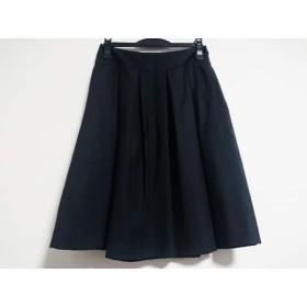 【中古】 セオリー theory スカート サイズ0 XS レディース 美品 黒