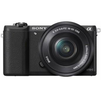 SONY デジタル一眼カメラ α5100 ILCE-5100L パワーズームレンズキット [ブラック]