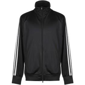 《セール開催中》PEOPLEHOUSE メンズ スウェットシャツ ブラック L コットン 95% / ポリウレタン 5%