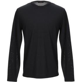 《セール開催中》ALTEA メンズ プルオーバー ブラック S バージンウール 70% / シルク 30%