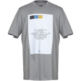 《9/20まで! 限定セール開催中》OAMC メンズ T シャツ グレー M コットン 100% / ポリウレタン