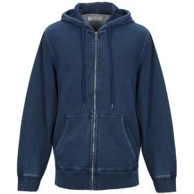 《期間限定セール中》GUESS メンズ スウェットシャツ ブルー XL コットン 100%