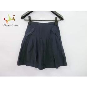 ジャスグリッティー JUSGLITTY スカート サイズ1 S レディース 美品 黒 プリーツ     スペシャル特価 20190803【人気】
