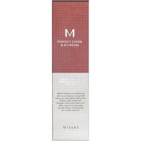 MパーフェクトカバーBBクリーム, No. 21ライトベージュ, 50 ml