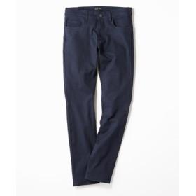 PLUS ONE 【WEB限定】24色スキニーパンツ メンズ【店舗裾上げ不可】 ネイビー