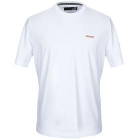 《期間限定セール開催中!》LOVE MOSCHINO メンズ T シャツ ホワイト XS コットン 100% / ポリウレタン