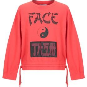《送料無料》FACETASM メンズ スウェットシャツ レッド 00 コットン 100%