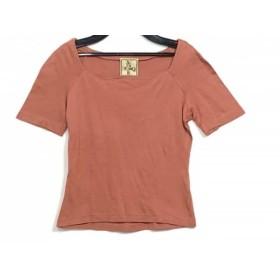 【中古】 ホコモモラ JOCOMOMOLA 半袖カットソー サイズ40 XL レディース ピンク