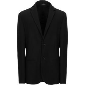 《期間限定セール開催中!》DANIELE ALESSANDRINI メンズ テーラードジャケット ブラック 50 ポリエステル 68% / レーヨン 28% / ポリウレタン 4%