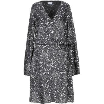 《セール開催中》BERNA レディース ミニワンピース&ドレス ブラック XS ポリエステル 100%