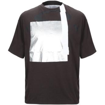《9/20まで! 限定セール開催中》OAKLEY メンズ T シャツ ダークブラウン XS コットン 100%