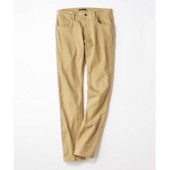 PLUS ONE 【WEB限定】24色スキニーパンツ メンズ【店舗裾上げ不可】 ベージュ