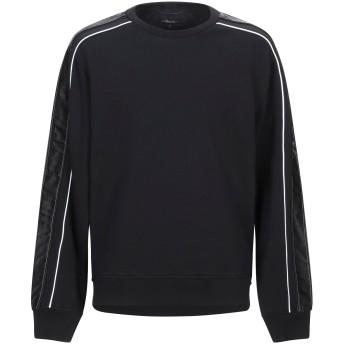 《9/20まで! 限定セール開催中》3.1 PHILLIP LIM メンズ スウェットシャツ ブラック S コットン 100% / レーヨン