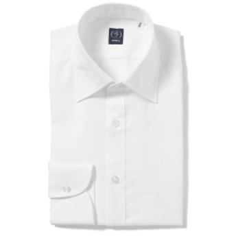 BEAMS F / コットンリネン セミワイドカラーシャツ(THOMAS MASON fabric) メンズ ドレスシャツ WHITE/01 39