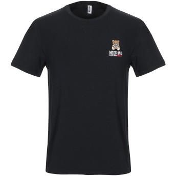 《9/20まで! 限定セール開催中》MOSCHINO メンズ アンダーTシャツ ブラック XS コットン 95% / ポリウレタン 5%