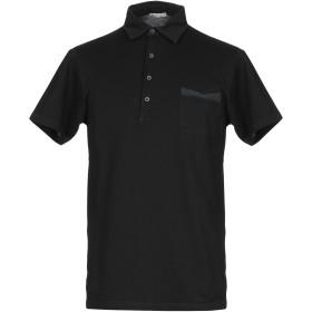 《期間限定 セール開催中》BELLWOOD メンズ ポロシャツ ブラック 54 コットン 100%