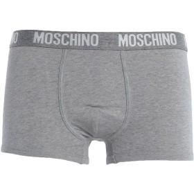 《期間限定セール開催中!》MOSCHINO メンズ トランクス グレー XS コットン 95% / ポリウレタン 5%