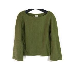 【中古】 シビラ Sybilla 長袖セーター サイズM レディース ライトグリーン