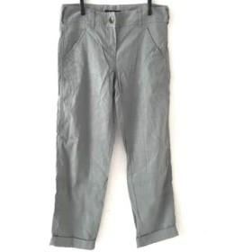 【中古】 セオリー theory パンツ サイズ2 S レディース 美品 ライトカーキ 薄手