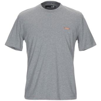 《セール開催中》LOVE MOSCHINO メンズ T シャツ グレー XS コットン 100% / ポリウレタン