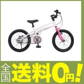 ROYALBABY(ロイヤルベイビー) 18インチ 補助輪付き 子ども用 自転車 ピンク (メーカー保証1年) アルミ合金フレー