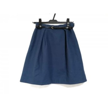 【中古】 アプワイザーリッシェ Apuweiser-riche スカート サイズ1 S レディース ブルーグリーン