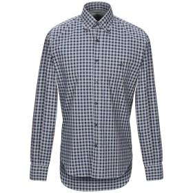 《セール開催中》BROOKSFIELD メンズ シャツ ダークブルー 39 コットン 100%