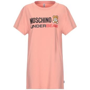 《セール開催中》MOSCHINO レディース アンダーTシャツ パステルピンク XS コットン 92% / ポリウレタン 8%