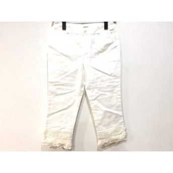【中古】 インゲボルグ INGEBORG パンツ サイズ9 M レディース 白