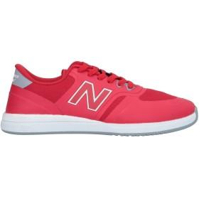《9/20まで! 限定セール開催中》NEW BALANCE メンズ スニーカー&テニスシューズ(ローカット) レッド 8 紡績繊維
