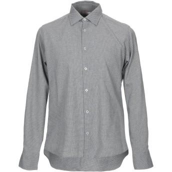 《期間限定セール開催中!》ALTEA メンズ シャツ 鉛色 S コットン 100%