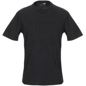 《セール開催中》LOVE MOSCHINO メンズ T シャツ ブラック S コットン 100%