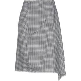 《セール開催中》MARIELLA ROSATI レディース ひざ丈スカート ホワイト 42 ポリエステル 52% / レーヨン 46% / ポリウレタン 2%