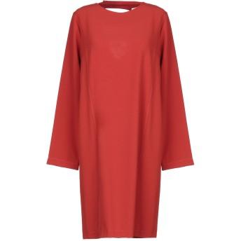 《セール開催中》NO-N レディース ミニワンピース&ドレス 赤茶色 XS ポリエステル 97% / ポリウレタン 3%
