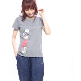 ディズニー Disney レディース 半袖Tシャツ DN-9C22199TSTM