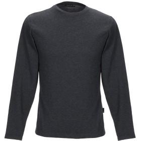《セール開催中》MASTER COAT メンズ T シャツ 鉛色 S コットン 47% / レーヨン 47% / ポリウレタン 6%