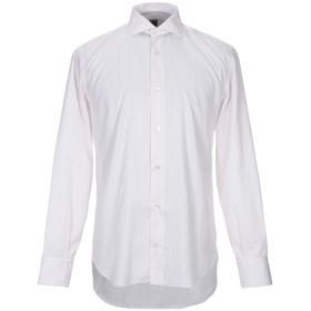 《期間限定セール開催中!》ELEVENTY メンズ シャツ レッド 40 コットン 100%