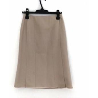 トゥービーシック TO BE CHIC スカート サイズ38 M レディース アイボリー【中古】