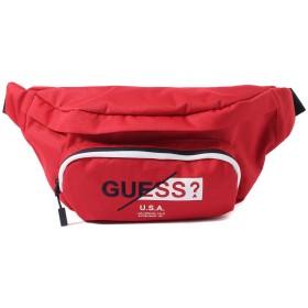 ゲス GUESS LOGO WAIST BAG (RED)