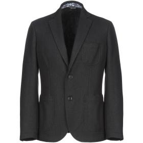 《期間限定セール開催中!》YOON メンズ テーラードジャケット ブラック 50 ウール 55% / ポリエステル 30% / レーヨン 15%