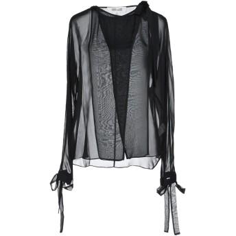 《セール開催中》DIANE VON FURSTENBERG レディース シャツ ブラック 10 シルク 100%