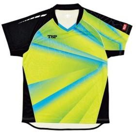 TSP 卓球ゲームシャツ プラネシャツ(男女兼用) 031424 【カラー】ライム 【サイズ】2XS