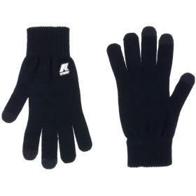 《送料無料》K-WAY メンズ 手袋 ダークブルー M アクリル 53% / ウール 42% / 金属 5%